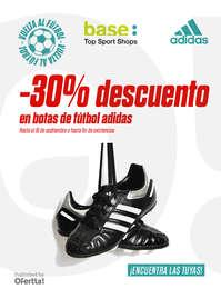 -30% en botas de fútbol Adidas*