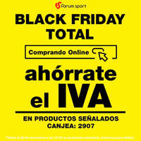Black Friday Total ahórrate el iva