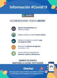Información Abordo #Covid19
