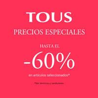 Precios especiales hasta el -60%