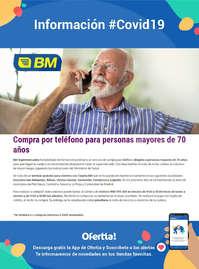 Información BM Supermercados #Covid19