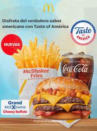 Disfruta del verdadero sabor americano 🇺🇸