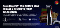 Gana un PS5 con Burger King
