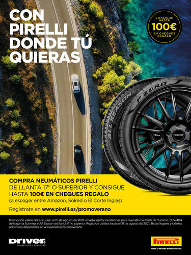 Con Pirelli donde tú quieras- Page 1