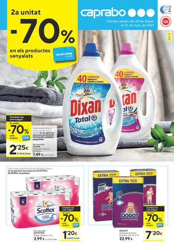 2a unitat -70% en els productes senyalats- Page 1