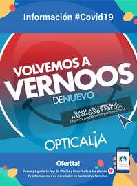 Información Opticalia #covid19