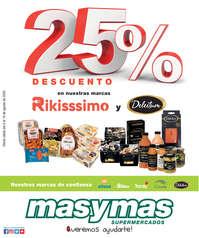 25% de descuento en nuestras marcas