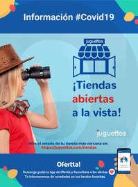 Tiendas abiertas Juguettos #covid19