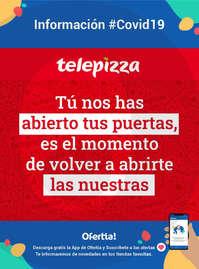 Información Telepizza #Covid19