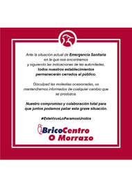 Bricocentro Informa - O Morrazo #EsteVirusLoParamosUnidos