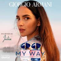 MY WAY y MY WAY INTENSE, las fragancias femeninas de Giorgio Armani