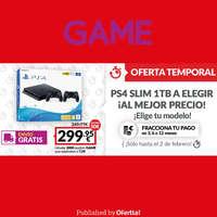 Oferta temporal PS4