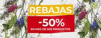 Rebajas -50% en más de 500 productos 🔥