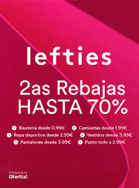 2as Rebajas hasta 70%