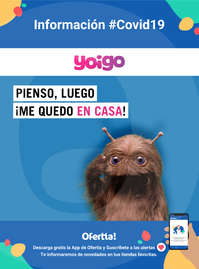 Información Yoigo #Covid19
