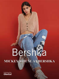 Mickey Mouse at Bershka