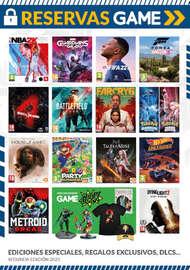Reservas Game 2ª edición