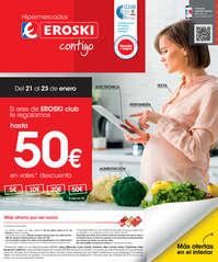Si eres de Eroski Club te regalamos hasta 50€