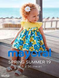 Spring Summer 19. De 6 a 36 meses