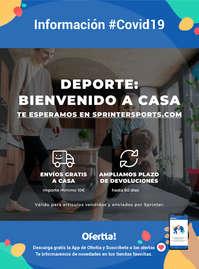 Información Sprinter-Envíos gratis #Covid19