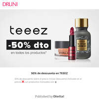 50% de descuento en TEEEZ