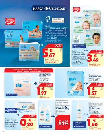 Marca Carrefour. Hemos bajado el precio a 1.100 productos- Page 1