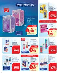 Marca Carrefour. Hemos bajado el precio a 1.100 productos