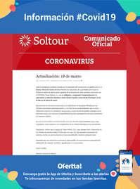 Información Soltour #Covid19