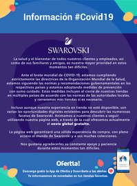 Información Swarovski #Covid19