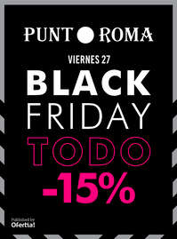 Black Friday todo -15%