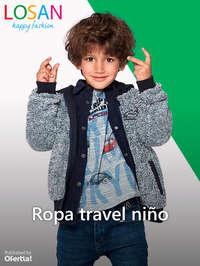 Ropa travel niño