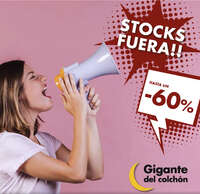 Stocks fuera!!