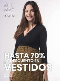 Hasta 70% dto en vestidos
