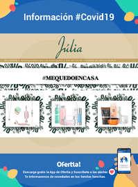 Información Perfumería Júlia #Covid19