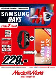 Llegan ofertas de otra galaxia con los Samsung Days 🚀