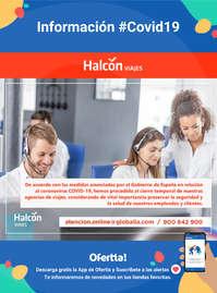Información Halcón Viajes #covid19