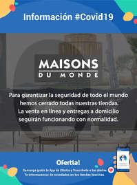 Información Maisons du Monde #Covid19