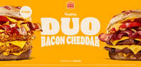 Vuelve Duo Bacon Cheddar 🍔🧀