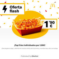 ¡Top Fries Individuales por 1,90€!