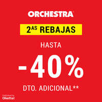 2as Rebajas. Hasta -40%dto. adicional