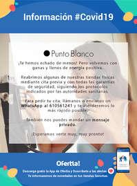Información Punto Blanco #covid19