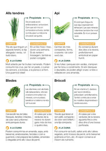 Verdures fresques i saludables- Page 1