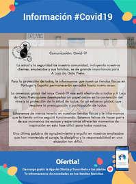 Información A Loja do Gato Preto #Covid19