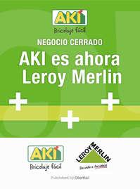 AKI es ahora Leroy Merlin