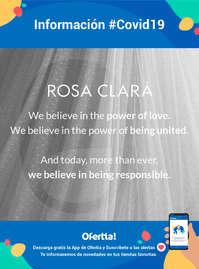 Información Rosa Clará #Covid19