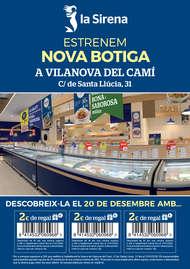 Estrenem nova botiga a Vilanova del Camí