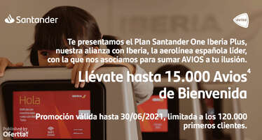 Plan Santander One Iberia Plus- Page 1