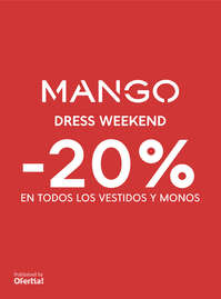 Dress Weekend -20% en vestidos y monos