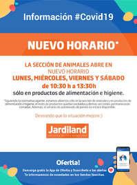 Información Jardiland #Covid19