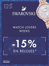 Watch lovers weeks -25% en relojes